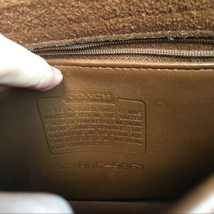 Coach Bags - Vintage Coach Cognac Crossbody Bag Coach Rambler